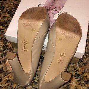 Jessica Simpson Shoes - Nude Jessica Simpson Pumps